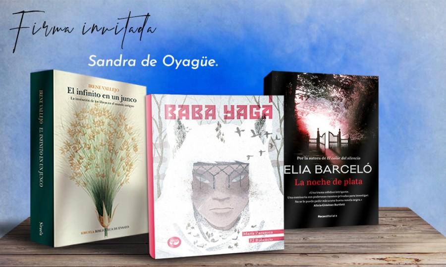 Sandra de Oyagüe crítica literaria bloguera