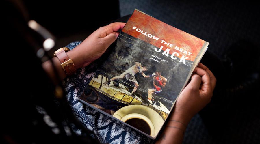mockup libro follow the beat